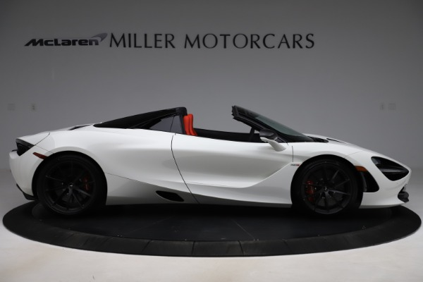 New 2020 McLaren 720S Spider Performance for sale $386,289 at Pagani of Greenwich in Greenwich CT 06830 8