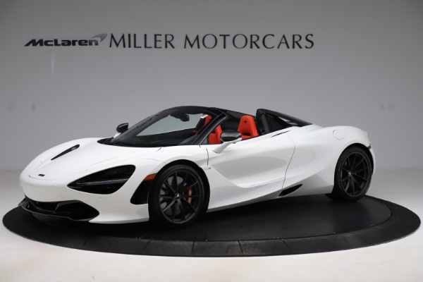 New 2020 McLaren 720S Spider Performance for sale Call for price at Pagani of Greenwich in Greenwich CT 06830 1