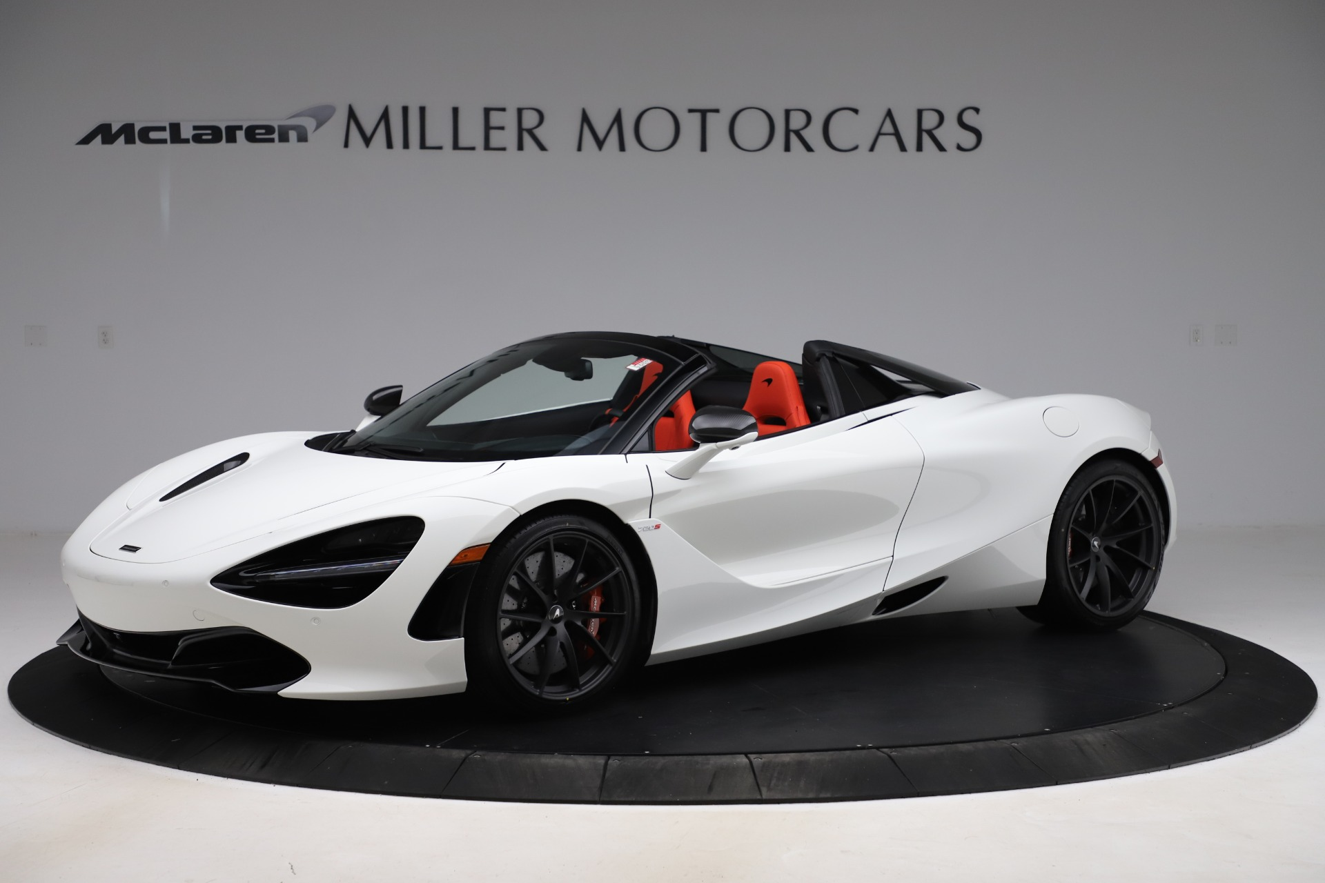 New 2020 McLaren 720S Spider Performance for sale $386,289 at Pagani of Greenwich in Greenwich CT 06830 1