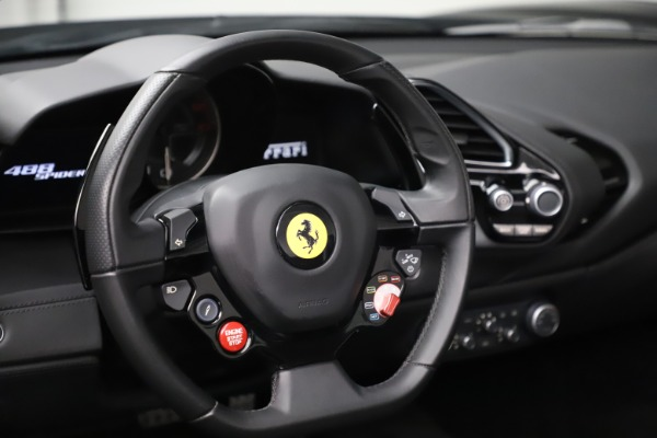 Used 2016 Ferrari 488 Spider for sale $242,900 at Pagani of Greenwich in Greenwich CT 06830 24