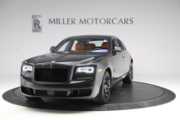 New 2020 Rolls-Royce Ghost Black Badge for sale Sold at Pagani of Greenwich in Greenwich CT 06830 1