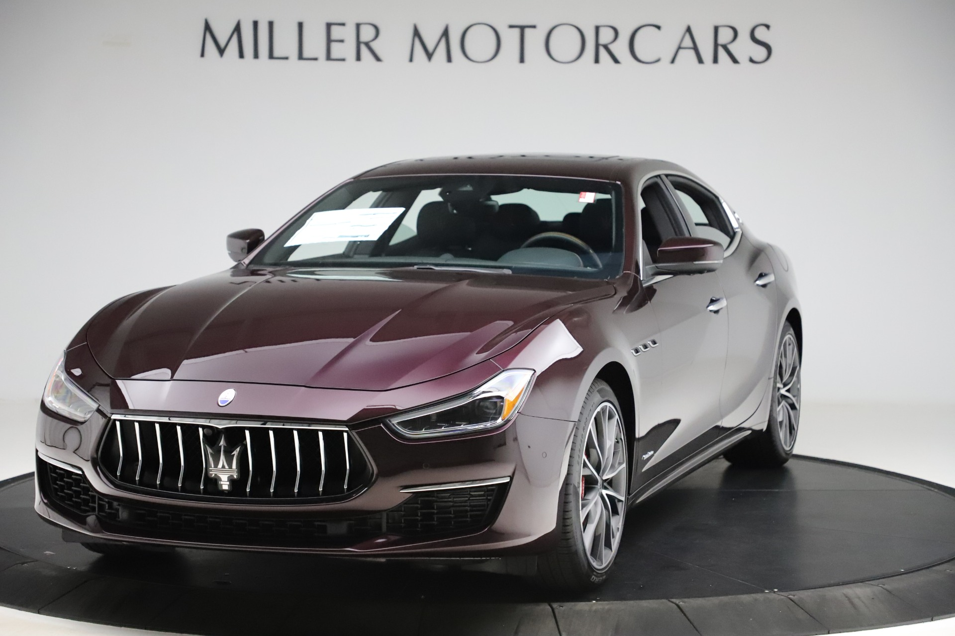 New 2020 Maserati Ghibli S Q4 GranLusso for sale $94,335 at Pagani of Greenwich in Greenwich CT 06830 1