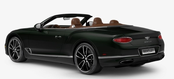 New 2020 Bentley Continental GTC W12 for sale Sold at Pagani of Greenwich in Greenwich CT 06830 3