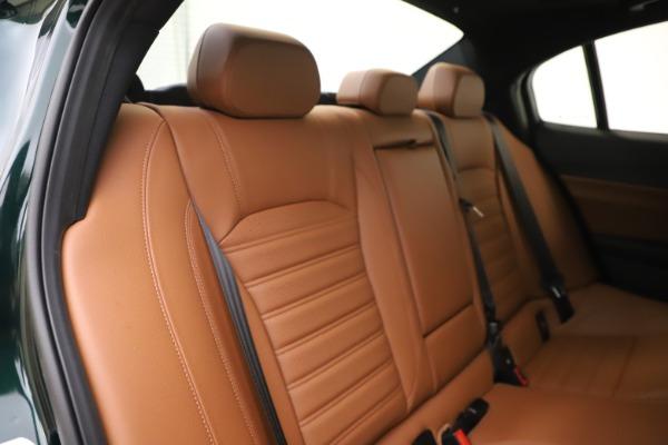 New 2020 Alfa Romeo Giulia Ti Sport Q4 for sale $54,995 at Pagani of Greenwich in Greenwich CT 06830 26
