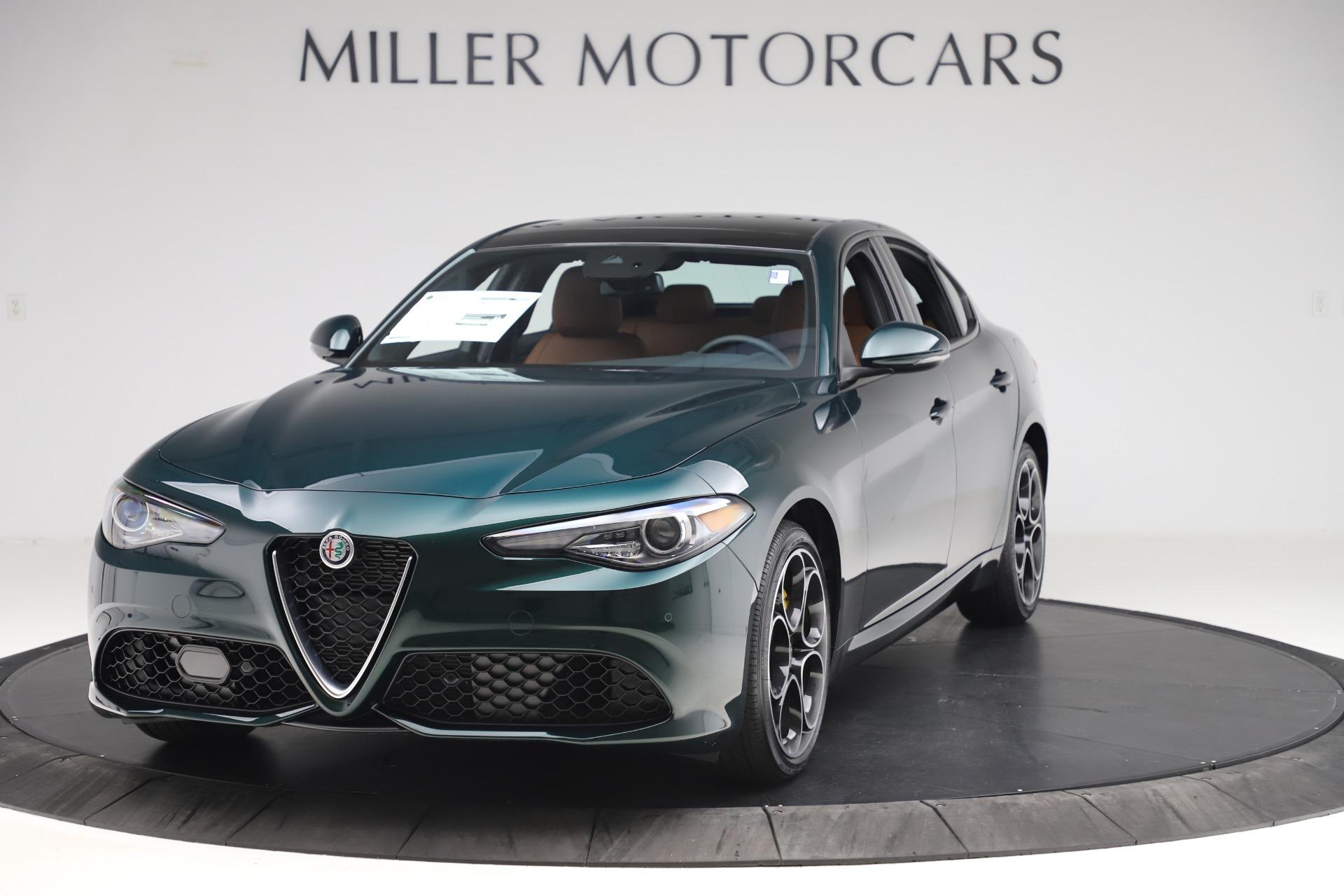 New 2020 Alfa Romeo Giulia Ti Sport Q4 for sale $54,995 at Pagani of Greenwich in Greenwich CT 06830 1