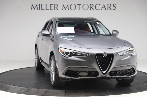 New 2020 Alfa Romeo Stelvio Ti Q4 for sale Sold at Pagani of Greenwich in Greenwich CT 06830 11