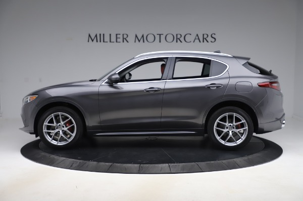 New 2020 Alfa Romeo Stelvio Ti Q4 for sale Sold at Pagani of Greenwich in Greenwich CT 06830 3