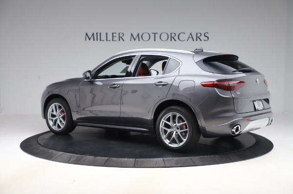 New 2020 Alfa Romeo Stelvio Ti Q4 for sale Sold at Pagani of Greenwich in Greenwich CT 06830 4