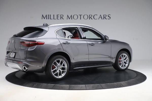 New 2020 Alfa Romeo Stelvio Ti Q4 for sale Sold at Pagani of Greenwich in Greenwich CT 06830 8