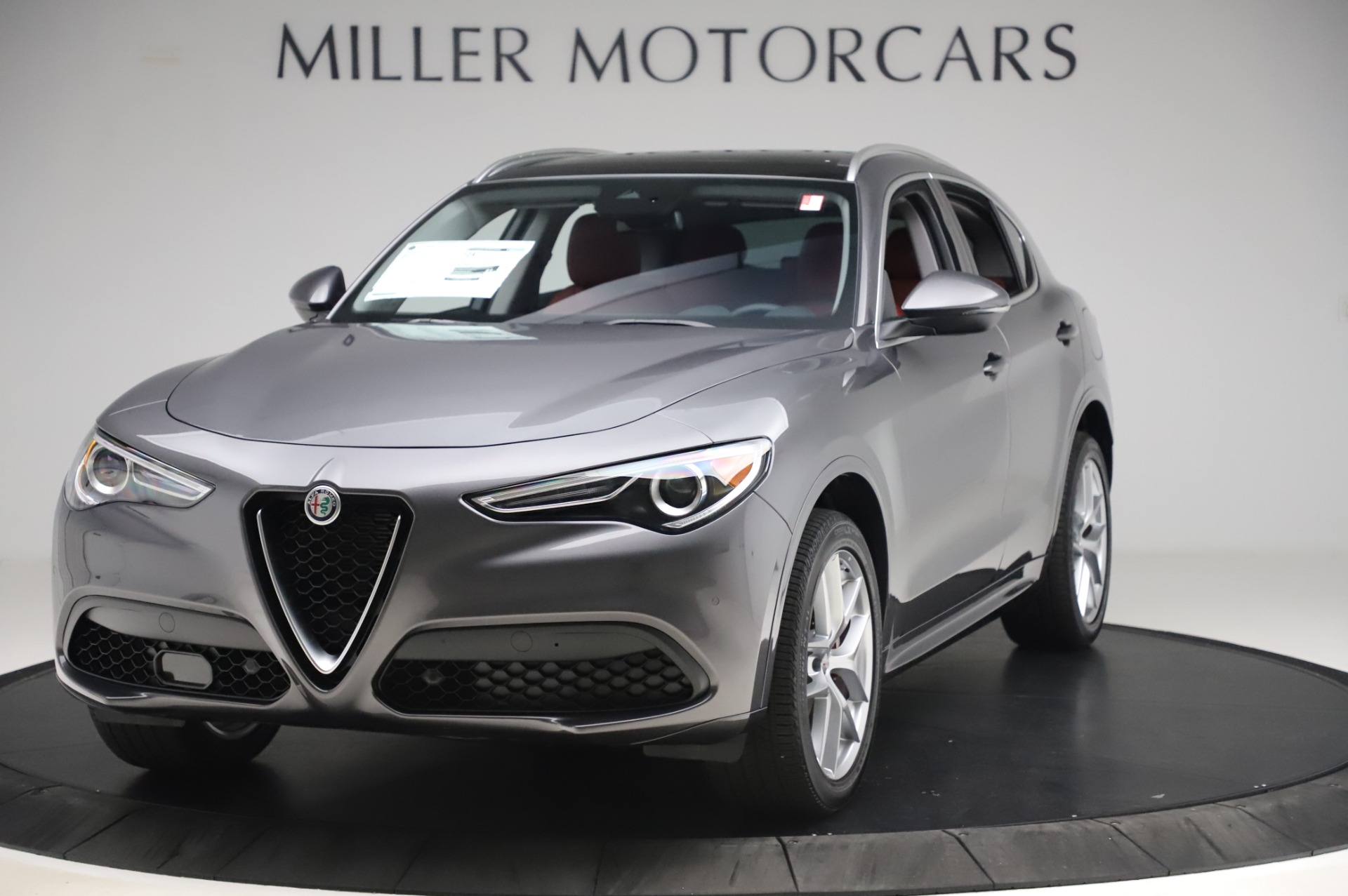 New 2020 Alfa Romeo Stelvio Ti Q4 for sale Sold at Pagani of Greenwich in Greenwich CT 06830 1