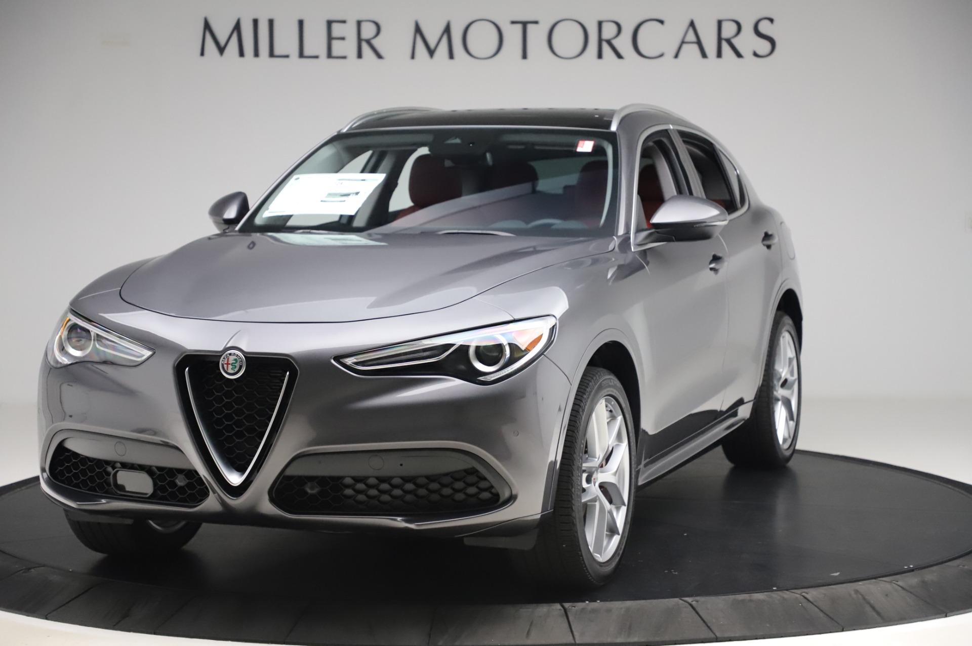 New 2020 Alfa Romeo Stelvio Ti for sale $54,995 at Pagani of Greenwich in Greenwich CT 06830 1