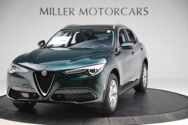 New 2020 Alfa Romeo Stelvio for sale $48,745 at Pagani of Greenwich in Greenwich CT 06830 1