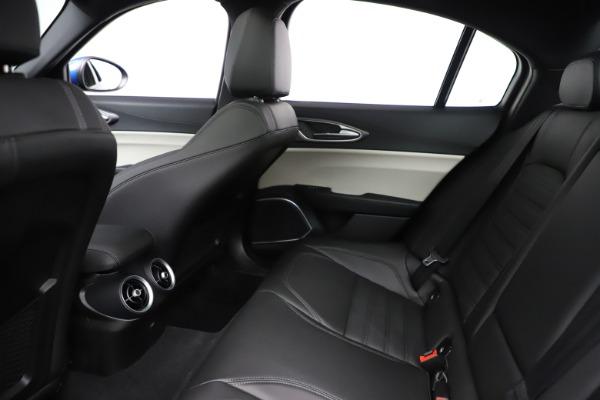New 2020 Alfa Romeo Giulia Ti Sport Q4 for sale Sold at Pagani of Greenwich in Greenwich CT 06830 19