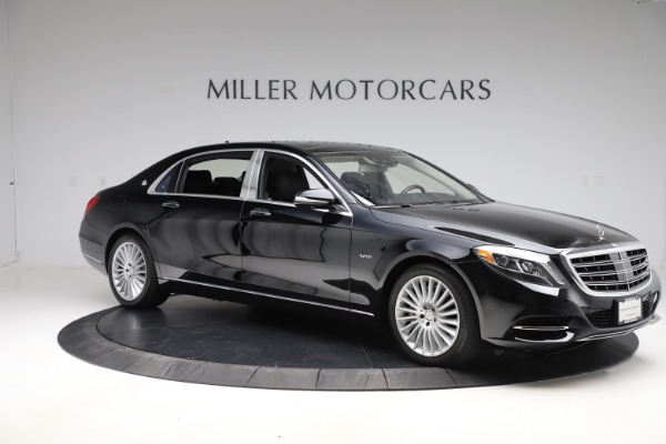 Used 2016 Mercedes-Benz S-Class Mercedes-Maybach S 600 for sale $87,900 at Pagani of Greenwich in Greenwich CT 06830 10