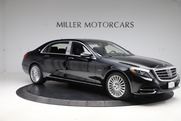 Used 2016 Mercedes-Benz S-Class Mercedes-Maybach S 600 for sale $87,900 at Pagani of Greenwich in Greenwich CT 06830 11