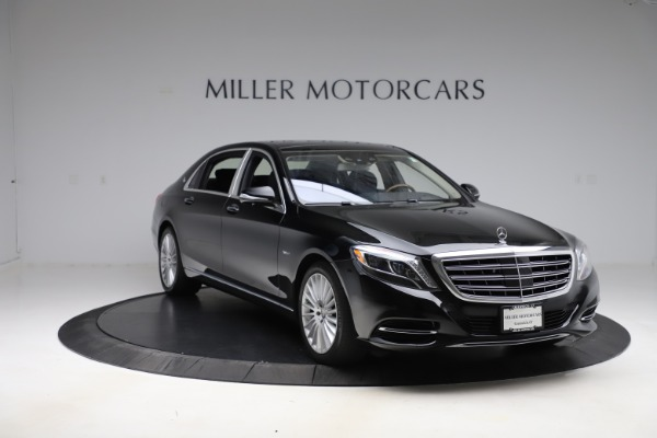 Used 2016 Mercedes-Benz S-Class Mercedes-Maybach S 600 for sale $87,900 at Pagani of Greenwich in Greenwich CT 06830 12