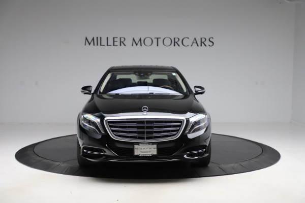 Used 2016 Mercedes-Benz S-Class Mercedes-Maybach S 600 for sale $87,900 at Pagani of Greenwich in Greenwich CT 06830 13