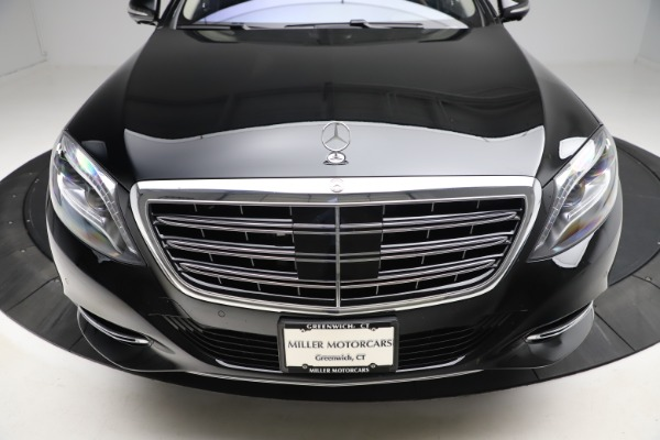 Used 2016 Mercedes-Benz S-Class Mercedes-Maybach S 600 for sale $87,900 at Pagani of Greenwich in Greenwich CT 06830 14