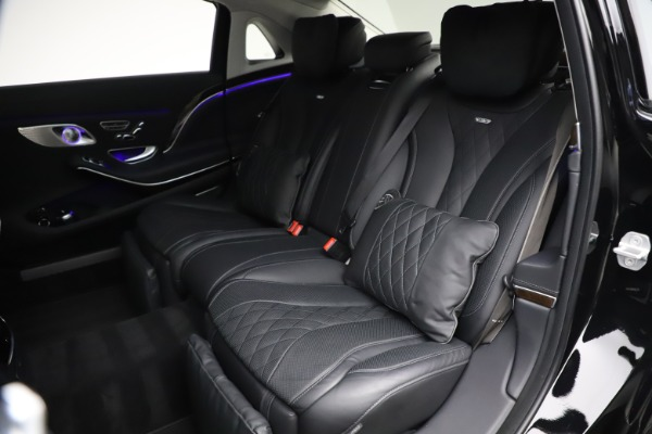 Used 2016 Mercedes-Benz S-Class Mercedes-Maybach S 600 for sale $87,900 at Pagani of Greenwich in Greenwich CT 06830 28