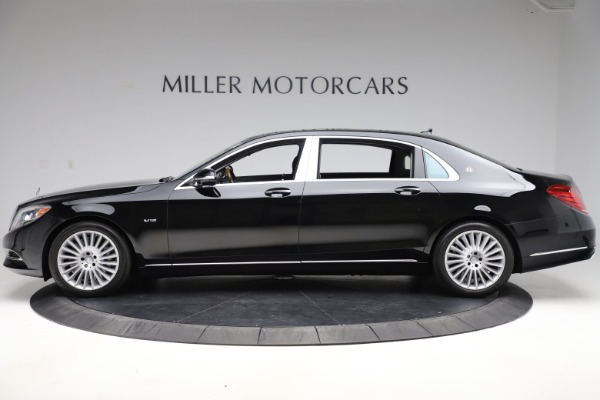 Used 2016 Mercedes-Benz S-Class Mercedes-Maybach S 600 for sale $87,900 at Pagani of Greenwich in Greenwich CT 06830 3