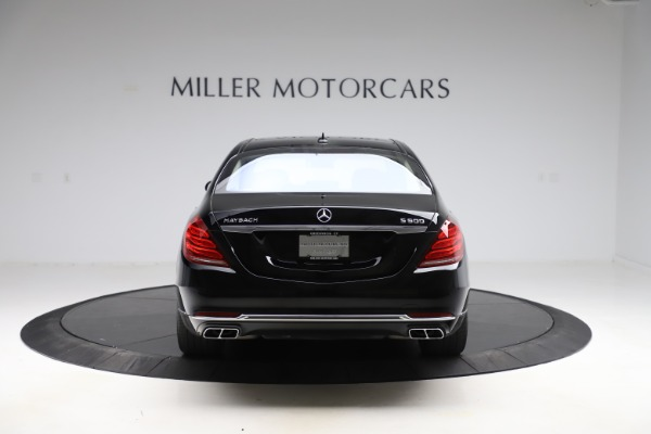 Used 2016 Mercedes-Benz S-Class Mercedes-Maybach S 600 for sale $87,900 at Pagani of Greenwich in Greenwich CT 06830 6