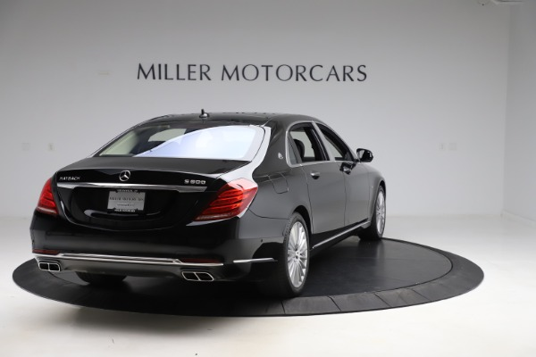 Used 2016 Mercedes-Benz S-Class Mercedes-Maybach S 600 for sale $87,900 at Pagani of Greenwich in Greenwich CT 06830 7