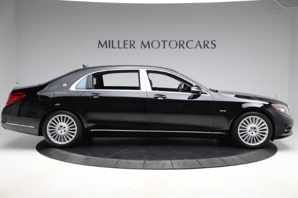 Used 2016 Mercedes-Benz S-Class Mercedes-Maybach S 600 for sale $87,900 at Pagani of Greenwich in Greenwich CT 06830 9