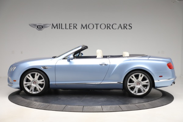 Used 2017 Bentley Continental GTC V8 for sale Sold at Pagani of Greenwich in Greenwich CT 06830 3