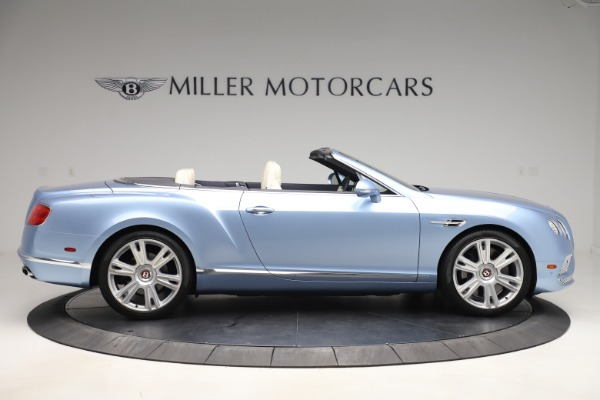 Used 2017 Bentley Continental GTC V8 for sale Sold at Pagani of Greenwich in Greenwich CT 06830 9