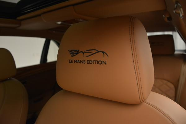 Used 2013 Bentley Mulsanne Le Mans Edition- Number 1 of 48 for sale Sold at Pagani of Greenwich in Greenwich CT 06830 21