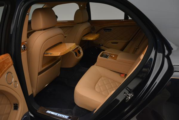 Used 2013 Bentley Mulsanne Le Mans Edition- Number 1 of 48 for sale Sold at Pagani of Greenwich in Greenwich CT 06830 25