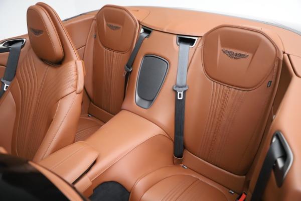 New 2020 Aston Martin DB11 Volante Convertible for sale $264,266 at Pagani of Greenwich in Greenwich CT 06830 16