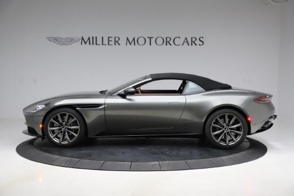 New 2020 Aston Martin DB11 Volante Convertible for sale $264,266 at Pagani of Greenwich in Greenwich CT 06830 22