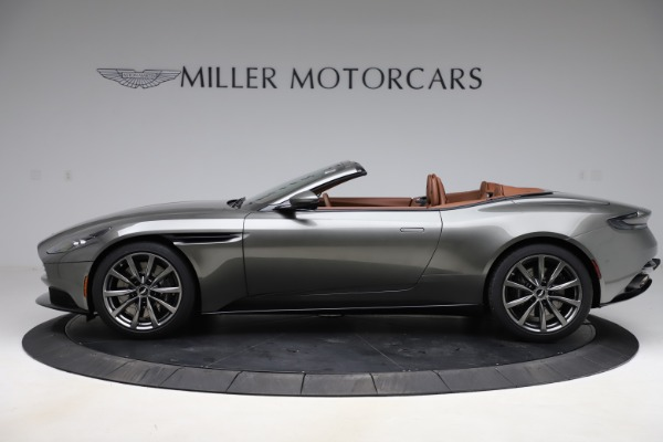 New 2020 Aston Martin DB11 Volante Convertible for sale $264,266 at Pagani of Greenwich in Greenwich CT 06830 4