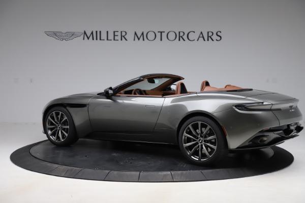 New 2020 Aston Martin DB11 Volante Convertible for sale $264,266 at Pagani of Greenwich in Greenwich CT 06830 5