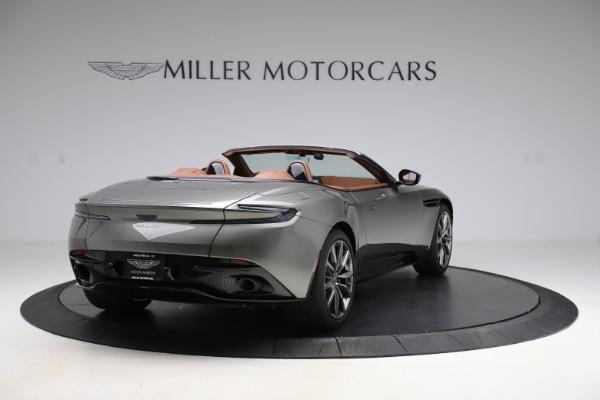 New 2020 Aston Martin DB11 Volante Convertible for sale $264,266 at Pagani of Greenwich in Greenwich CT 06830 8