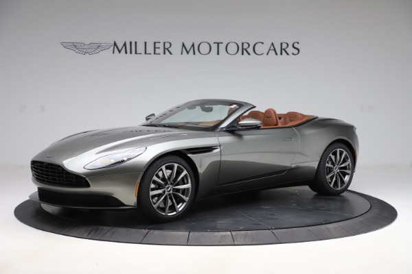 New 2020 Aston Martin DB11 Volante Convertible for sale $264,266 at Pagani of Greenwich in Greenwich CT 06830 1