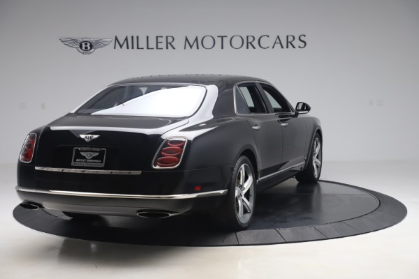 Used 2016 Bentley Mulsanne Speed for sale $146,900 at Pagani of Greenwich in Greenwich CT 06830 7