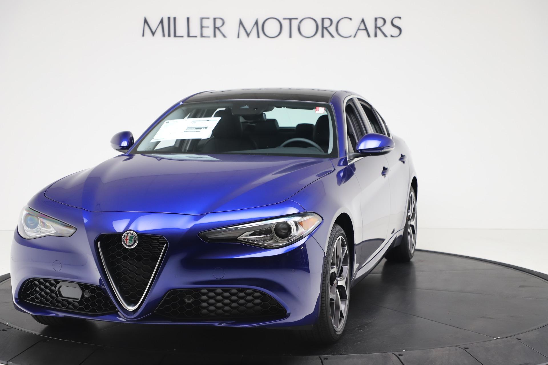 New 2020 Alfa Romeo Giulia Ti Q4 for sale $49,245 at Pagani of Greenwich in Greenwich CT 06830 1