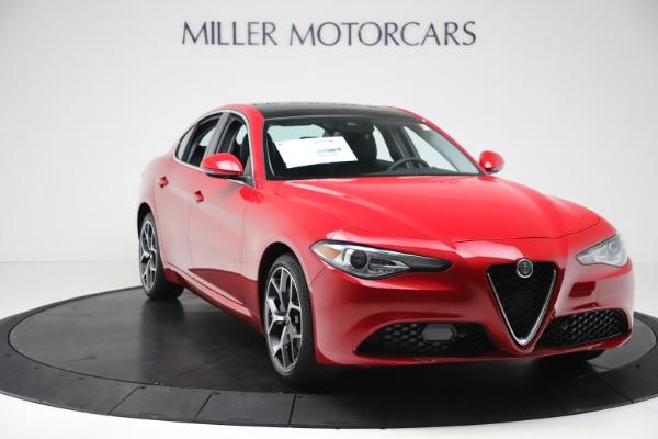 New 2020 Alfa Romeo Giulia Ti Q4 for sale $47,745 at Pagani of Greenwich in Greenwich CT 06830 10