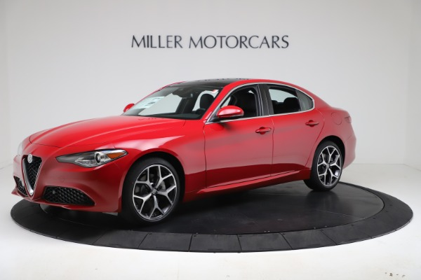 New 2020 Alfa Romeo Giulia Ti Q4 for sale $47,745 at Pagani of Greenwich in Greenwich CT 06830 2