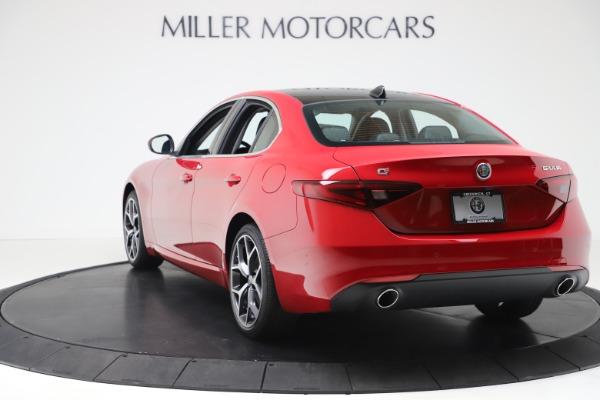 New 2020 Alfa Romeo Giulia Ti Q4 for sale $47,745 at Pagani of Greenwich in Greenwich CT 06830 5