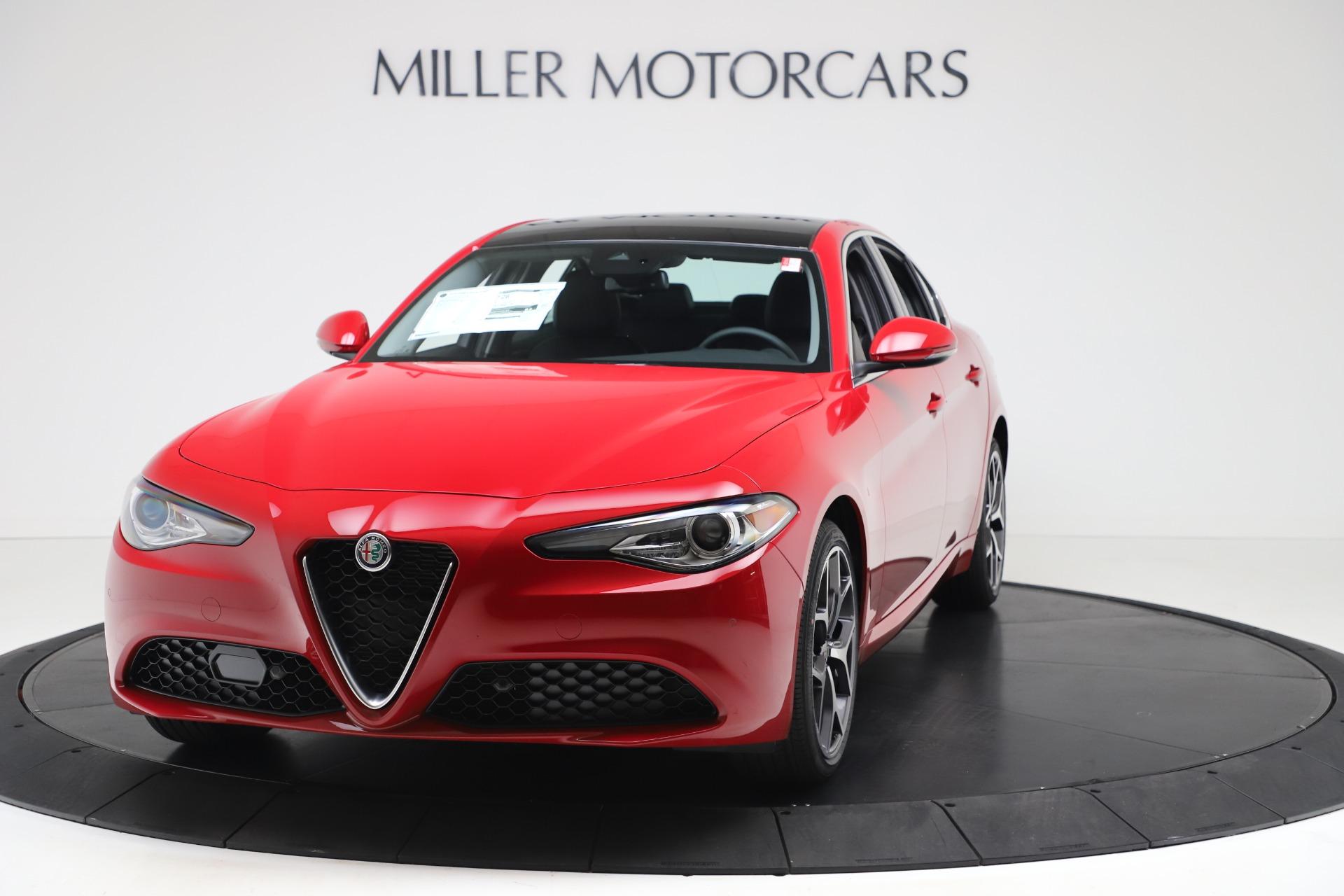 New 2020 Alfa Romeo Giulia Ti Q4 for sale Sold at Pagani of Greenwich in Greenwich CT 06830 1