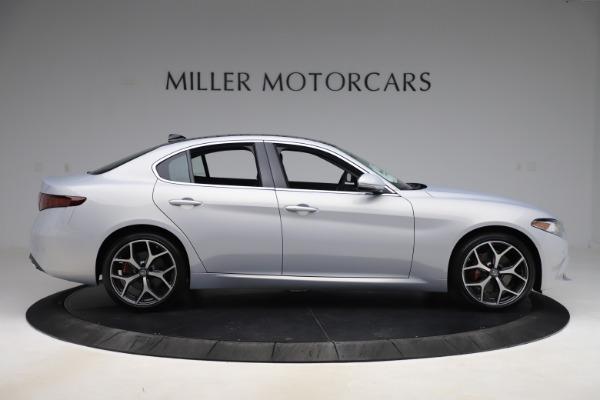 New 2020 Alfa Romeo Giulia Ti Q4 for sale $52,345 at Pagani of Greenwich in Greenwich CT 06830 9