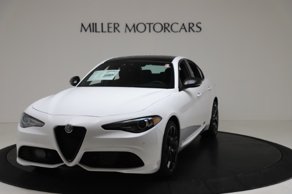 New 2020 Alfa Romeo Giulia Sport Q4 for sale $49,145 at Pagani of Greenwich in Greenwich CT 06830 1