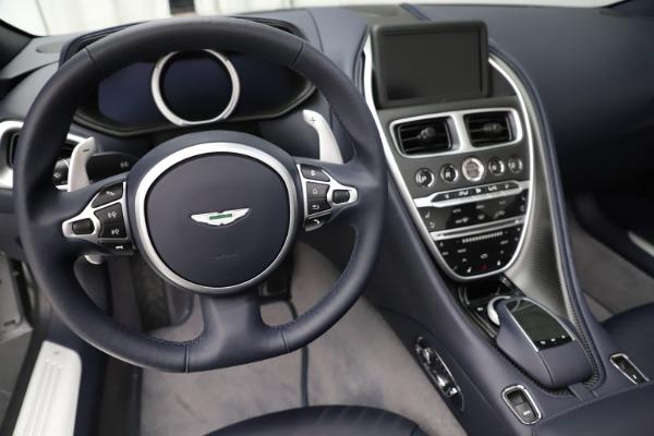 New 2020 Aston Martin DB11 Volante Convertible for sale $253,181 at Pagani of Greenwich in Greenwich CT 06830 17