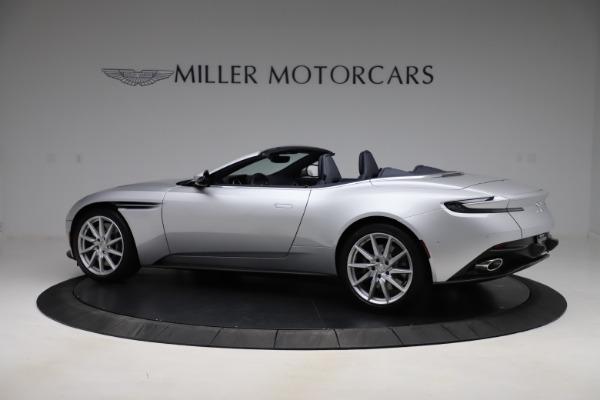 New 2020 Aston Martin DB11 Volante Convertible for sale $253,181 at Pagani of Greenwich in Greenwich CT 06830 5
