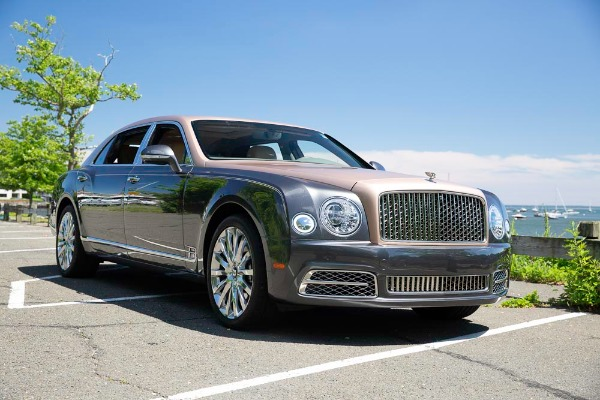 Used 2017 Bentley Mulsanne EWB for sale $295,900 at Pagani of Greenwich in Greenwich CT 06830 11
