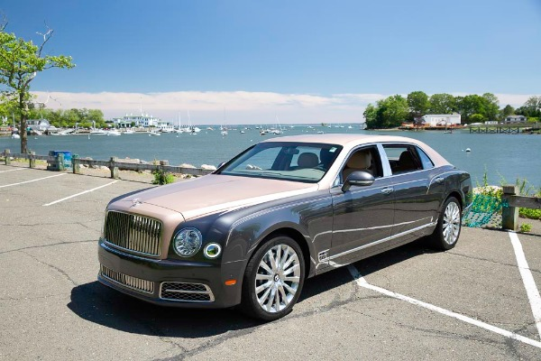 Used 2017 Bentley Mulsanne EWB for sale $295,900 at Pagani of Greenwich in Greenwich CT 06830 3