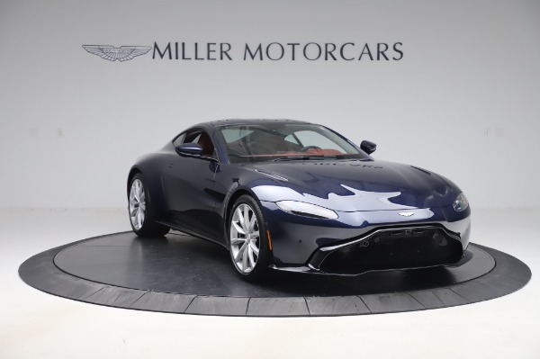 New 2020 Aston Martin Vantage Coupe for sale $177,481 at Pagani of Greenwich in Greenwich CT 06830 10